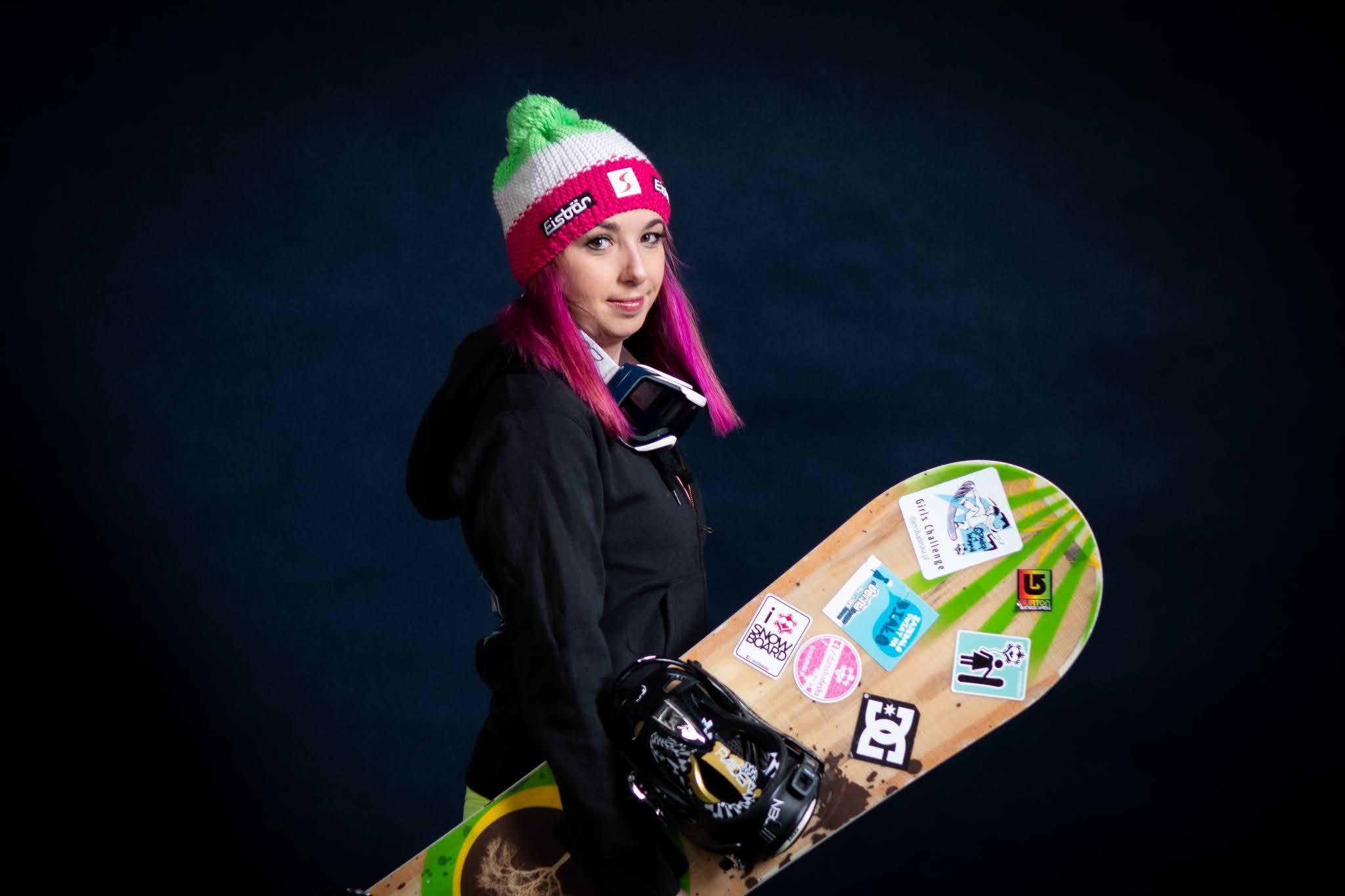 sesja snowboardowa