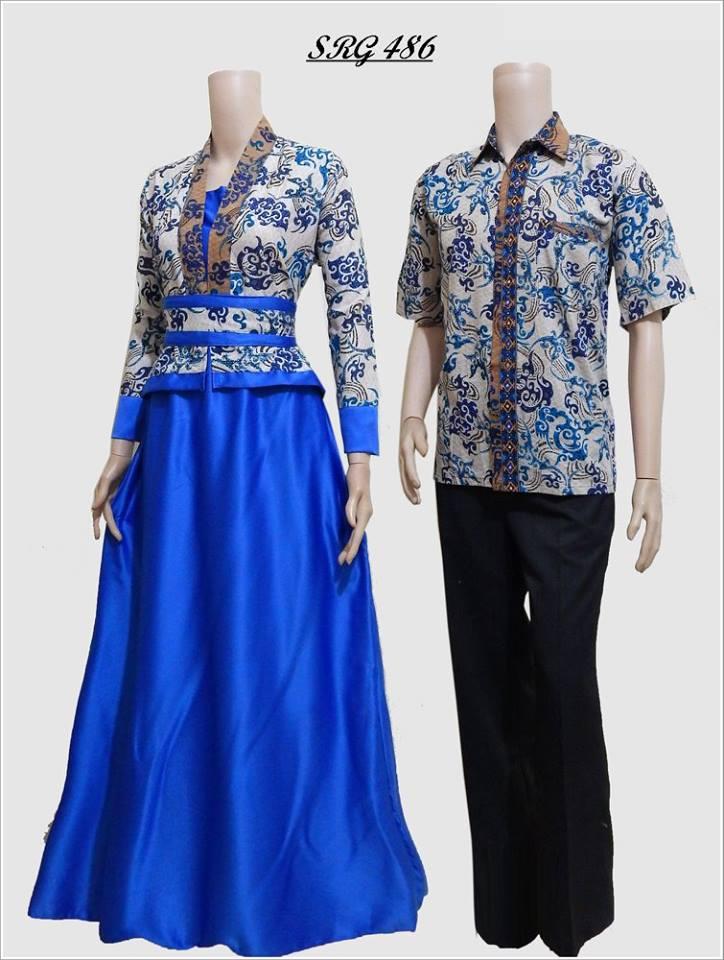 Baju Batik Couple Untuk Pesta Srg 486