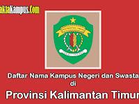 15+ Kampus Terbaik di Kalimantan Timur yang Negeri dan Swasta