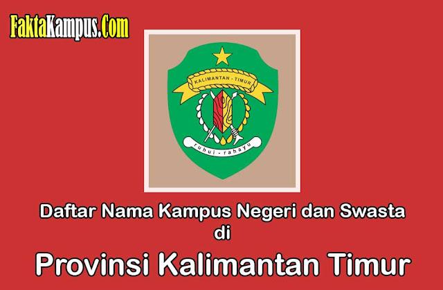 Daftar Kampus di Kalimantan Timur
