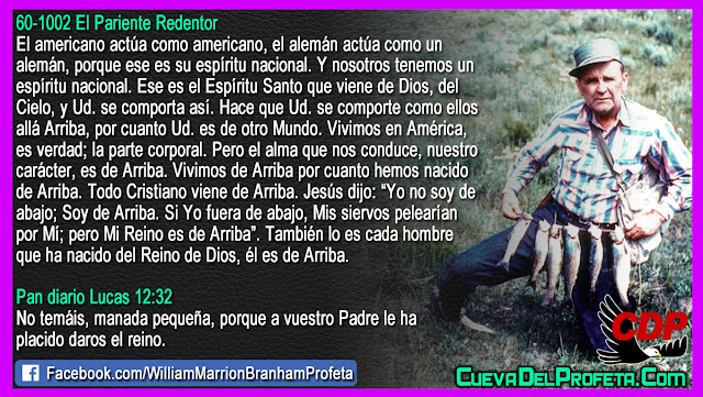 Sabía que Usted es de otro mundo - William Branham en Español