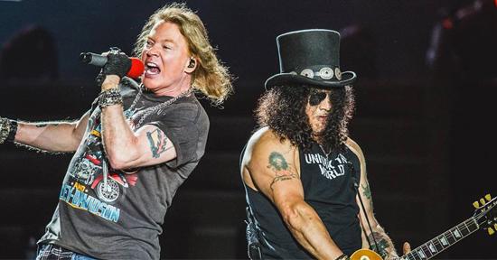 Se cancela el concierto de Guns N' Roses en Lima por el coronavirus 😷