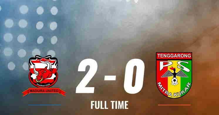 Hasil Madura United vs Mitra Kukar Skor Akhir 2-0 | Liga 1 Pekan 21