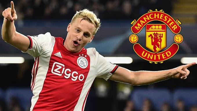 Man Utd sign Ajax midfielder Donny van de Beek for £35m
