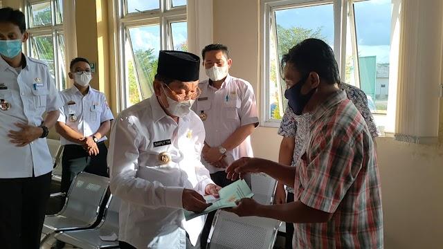 Pasien Operasi Usus Buntu Sampai Gadaikan Sertifikat Rumah, Bupati Mesuji Saply Lunasi Biaya Rumah Sakit