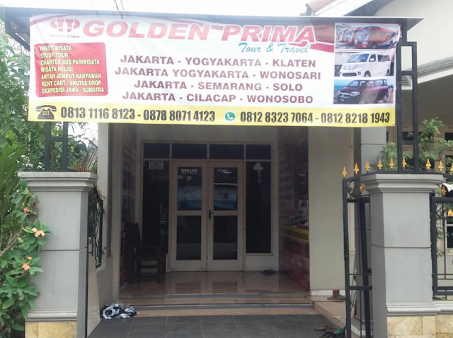 Golden Prima Travel Magelang