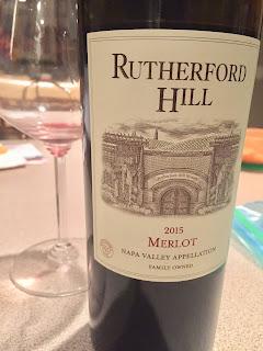2015 Rutherford hill merlot pairing