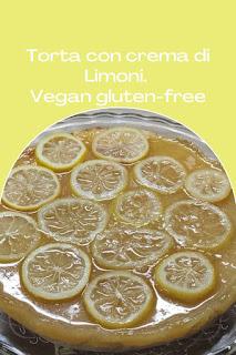 gluten free vegan torta limoni