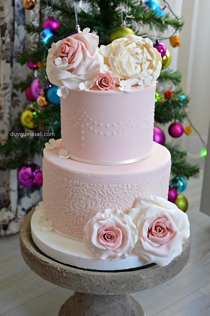 edirne dantel söz nişan pasta