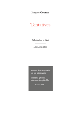 Tentatives Jacques Goorma