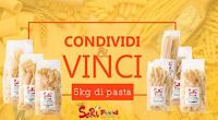 Logo Vinci gratis 5 kg.di Pasta Seri Food