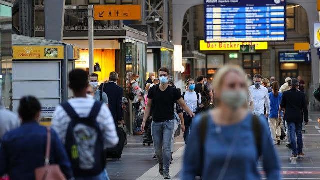 Napi húszezer körüli fertőzéstől tart Merkel