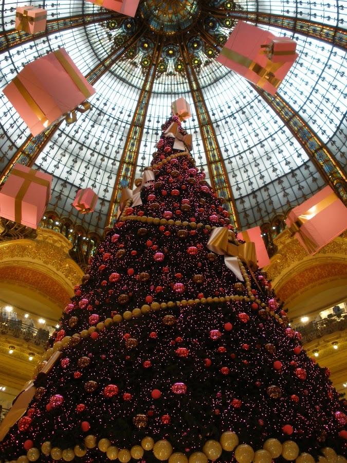 Galerias Lafayette, una de los centros comerciales más grandes del mundo.