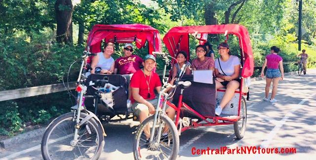 Central Park Pedicab Tours & Bike Rentals