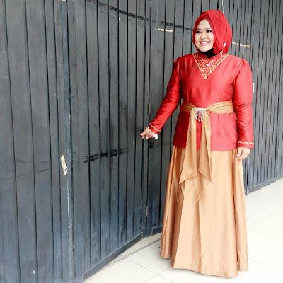 Model Baju Muslim Untuk Orang Gemuk Acara Hajatan