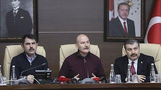 وزير الداخلية التركي: 678 هزة ارتدادية أعقبت زلزال ألازيغ