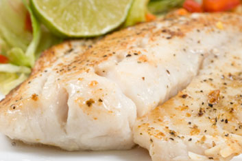 Fish and seafood for glowing skin