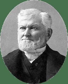 Wilford Woodruff in 1889