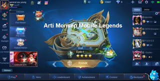 Arti Monsep Mobile Legends