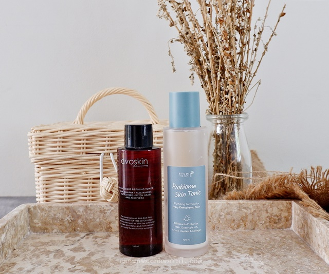 Avoskin Miraculous Refining Toner &  Studio Tropik Probiome Skin Tonic