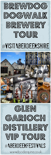 www.foodiequine.co.uk Craft Beer and Malt Whisky in Aberdeenshire visiting Brewdog's DogTap and DogWalk Brewery Tour in Ellon plus a VIP Whisky Tasting at Old Meldrum's Glen Garioch Distillery. #VisitAberdeenshire #AberdeenFestivals