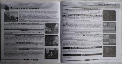 Skies of Arcadia - Manual interior