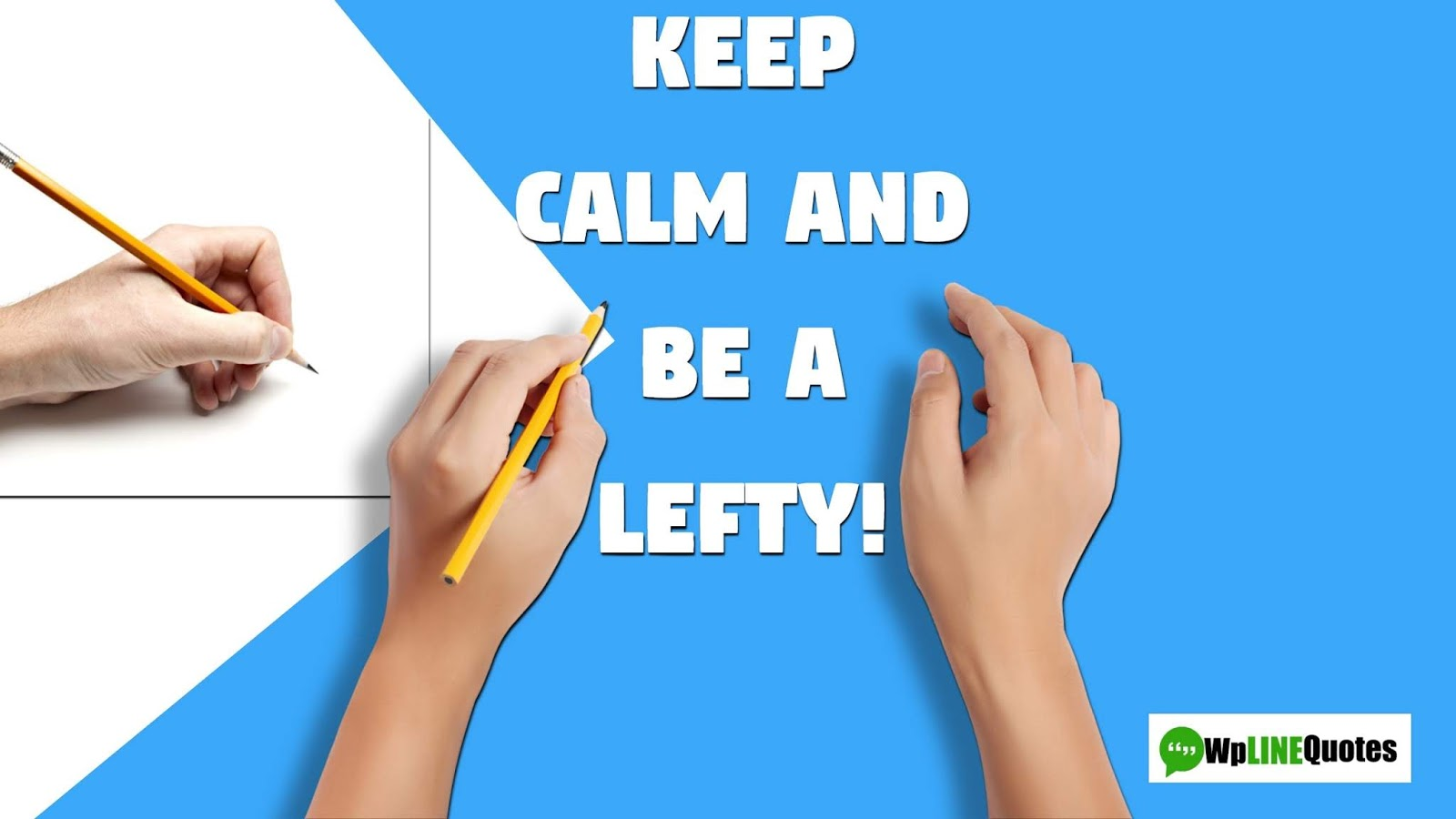 left handers day images