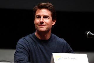 Tom Cruise smiling