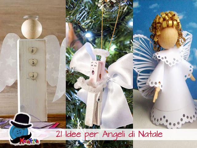21 Angeli di Natale fai da te