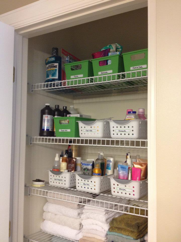 Bathroom Closet Organization Tips  Organized For Life