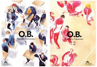O.B. tome 1 et 2 de Asumiko Nakamura
