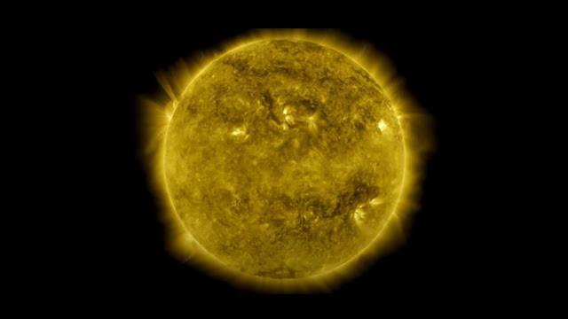 La NASA lanza lapso de tiempo de 10 años del Sol