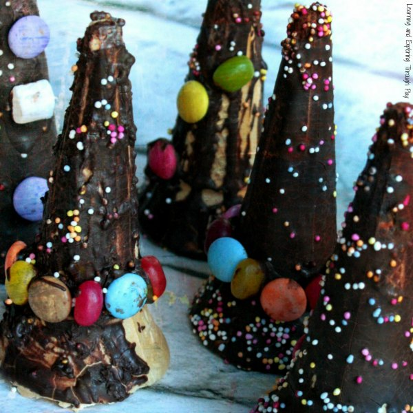 Witches and Wizard Hat Treats