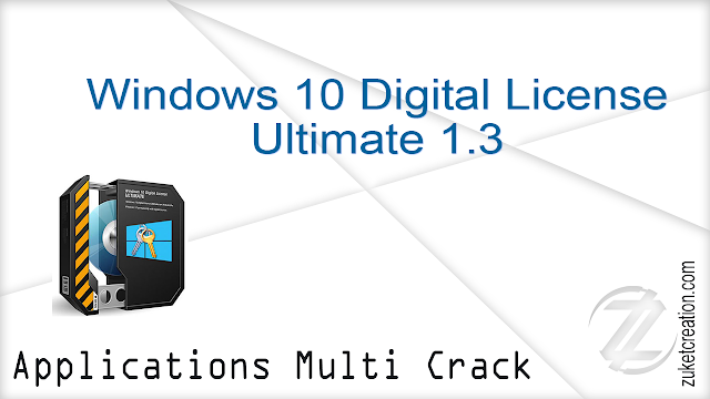 Windows 10 Digital License Ultimate 1.3  |  4 MB