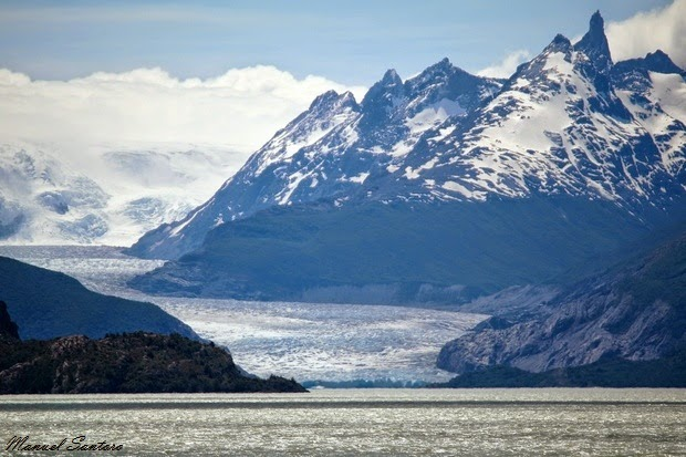 Parco Nazionale Torres del Paine, Glaciar Grey