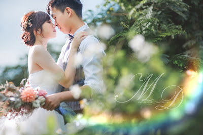 浪漫草原星空自助婚紗