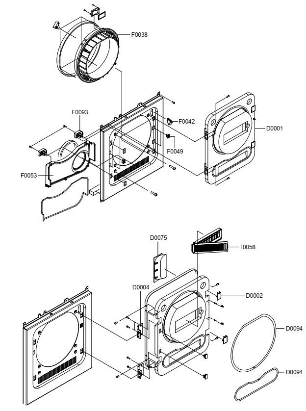 Master Electronics Repair How To Disassemble Samsung Dv5008jgw3