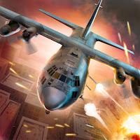 Jogo de guerra de avião para android com munição infinita