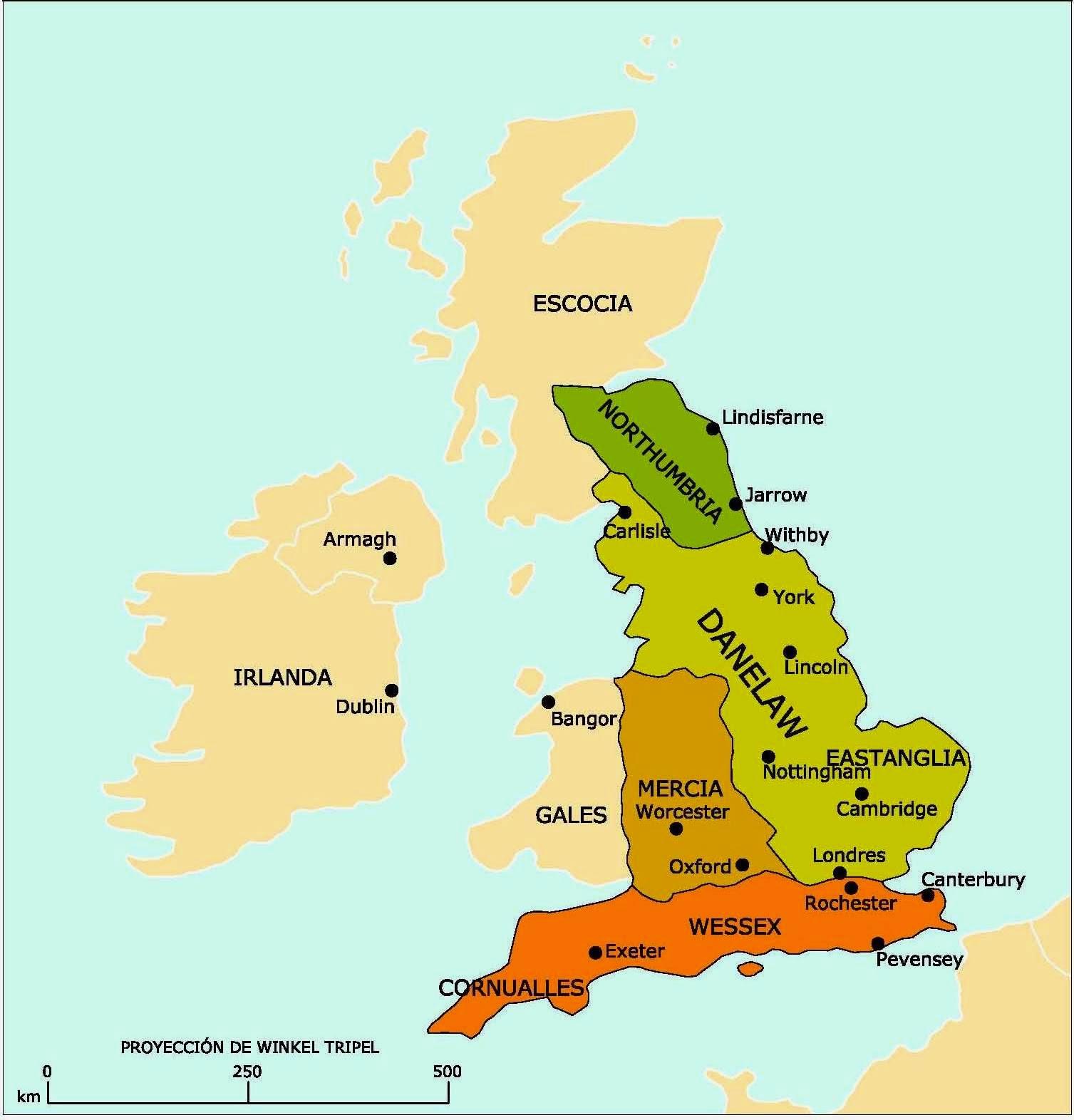 Resultado de imagen para mapa inglaterra medieval