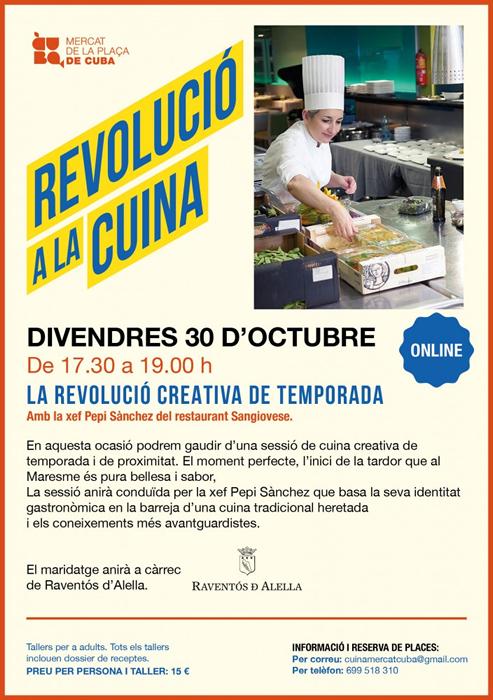 MERCAT PLAÇA CUBA REVOLUCIÓ CUINA CREATIVA TEMPORADA