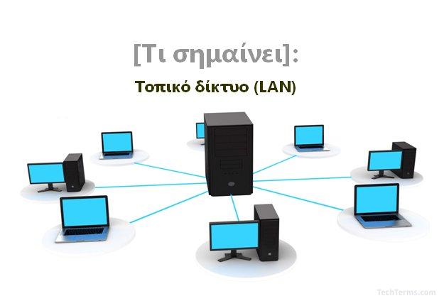 [Τι σημαίνει]: Τοπικό δίκτυο (LAN)