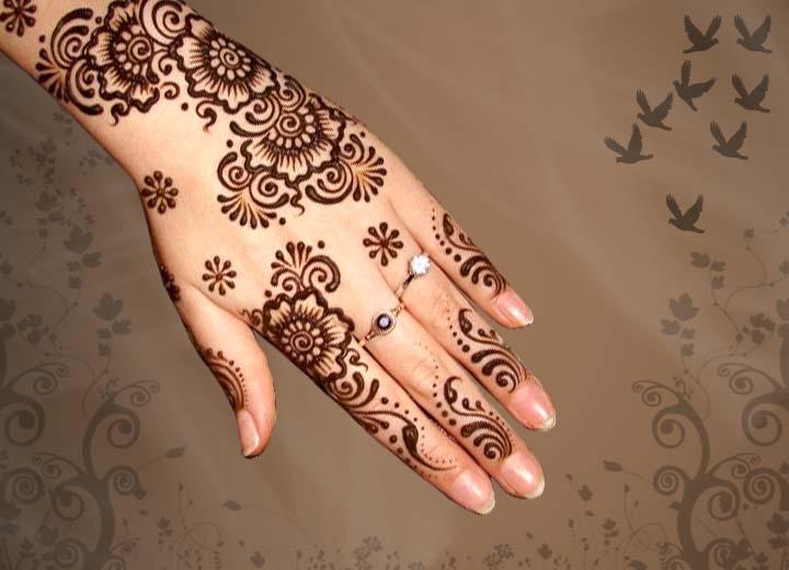 Mehndi For Dp : Beautiful pakistani eid mehndi new style designs and
