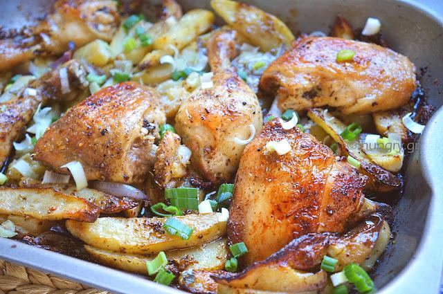 Πικάντικο Κοτόπουλο Cajun