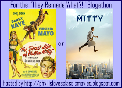 Danny Kaye or Ben Stiller - A Duel of Walter Mitty