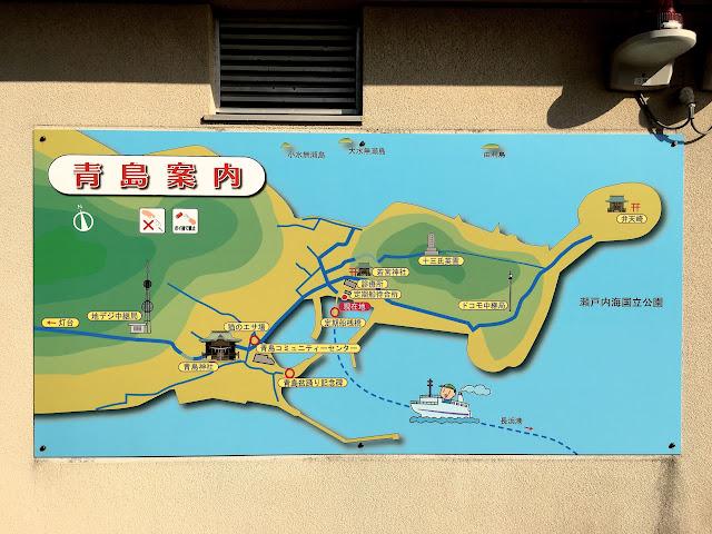 猫島 青島 地図