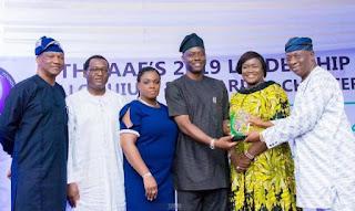 Governor Makinde received 'Empathy in Leadership' Award