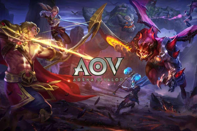 AOV - Age of Valor: Game Moba dengan kualitas grafis HD