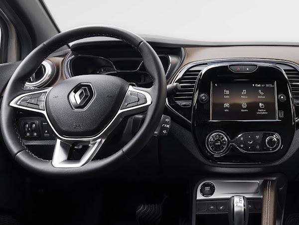 Novo Renault Captur 2022 1.3 Turbo Automático tem interior revelado
