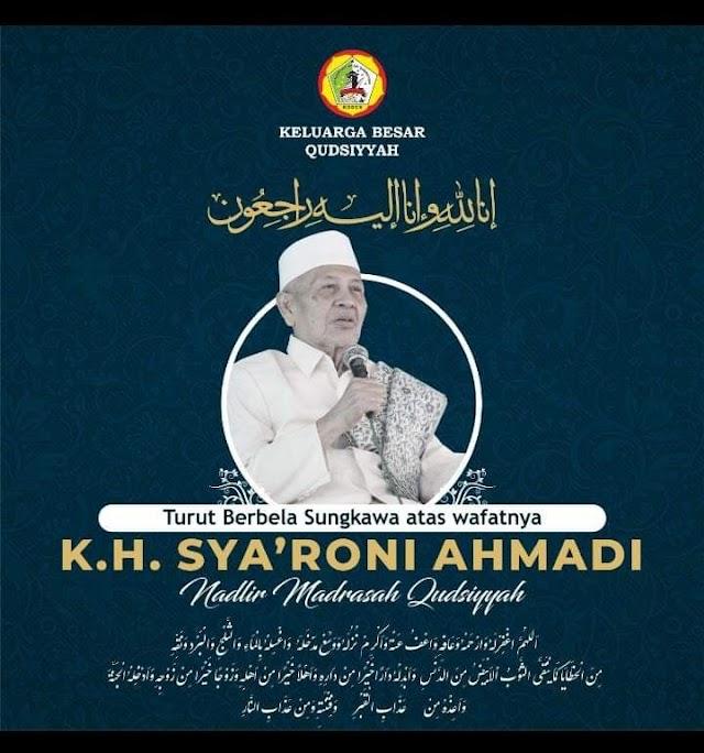 Profil KH. M. Sya'roni Ahmadi Ulama Kharismatik Kudus