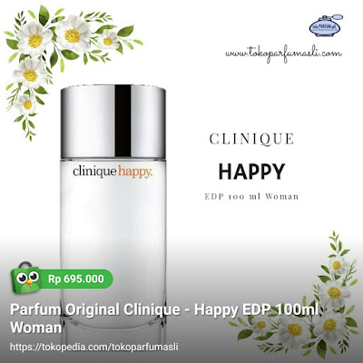 toko parfum asli parfum original clinique happy edp 100ml woman